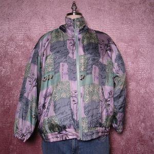 EVR DIV Rousso Jacket, Vintage silk windbreaker